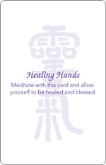 Healing Hands Card Back