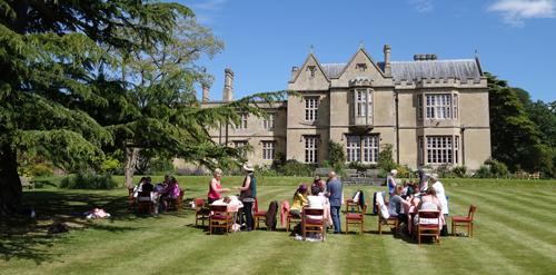 Glastonbury Abbey House Reiki Class