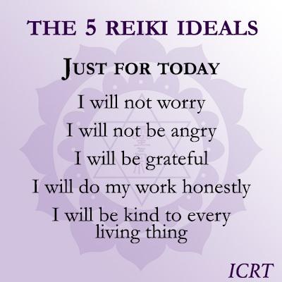 5 Reiki Ideals