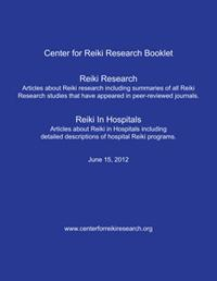 Center for Reiki Research Booklet