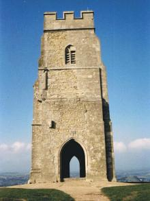 Stone Tower at top of the Tor