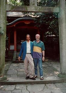 Arjava Petter and William Lee Rand, Yasaka Jinja Temple, Kyoto