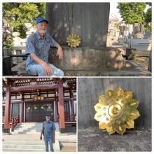 William Visits the Usui Memorial In Tokyo