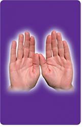 Healing Hands Card