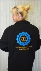 Back of Fleece Jacket